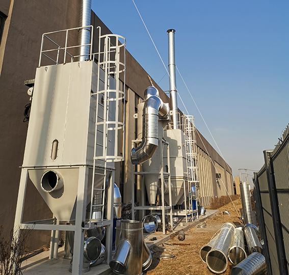 沈阳斯林达安科新技术有限公司布袋除尘器案例
