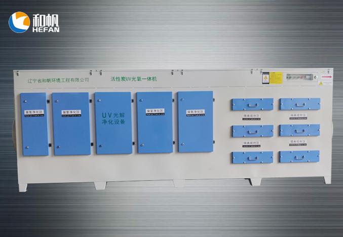 UV光氧活性炭一体机